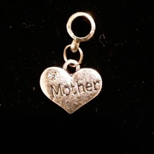Mother Heart Charm NWOT